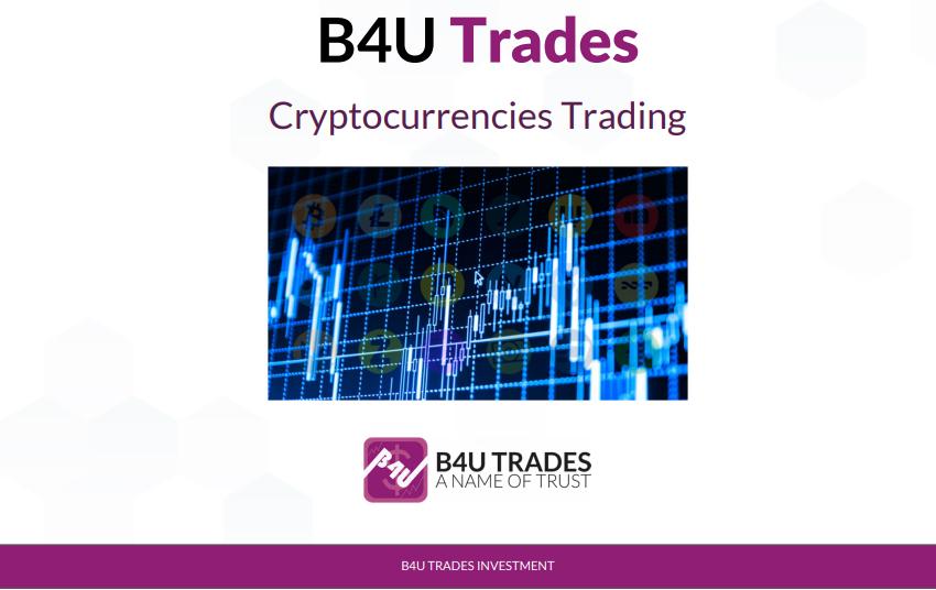 b4u trades menjalankan bisnes cryptocurrency trading urusniaga matawang kripto melabur dengan selamat di b4u group buat duit dari pelaburan di b4u trades investment