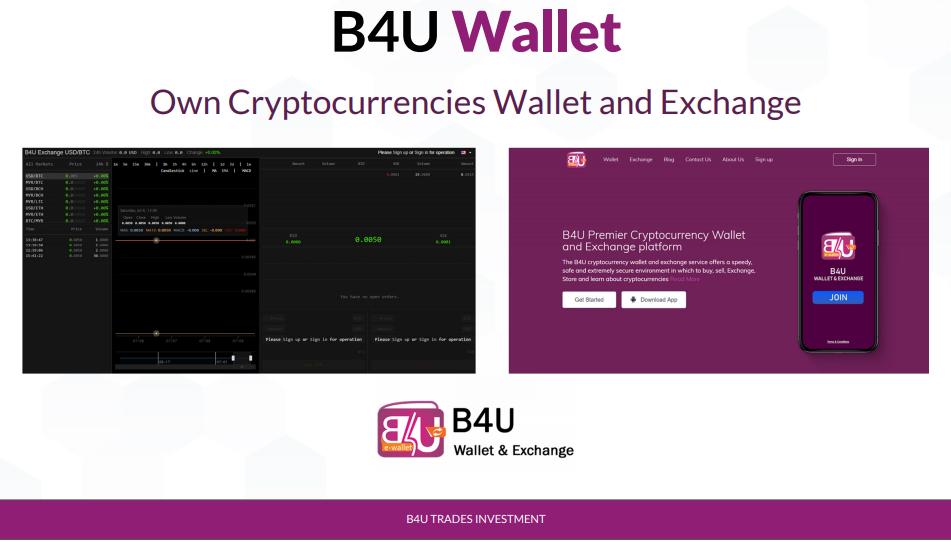 b4u wallet perniagaan b4u trades investment menjana keuntungan profit hari hari bisnes roi terbaik di malaysia selamat dan lumayan pelaburan di b4u trades investment