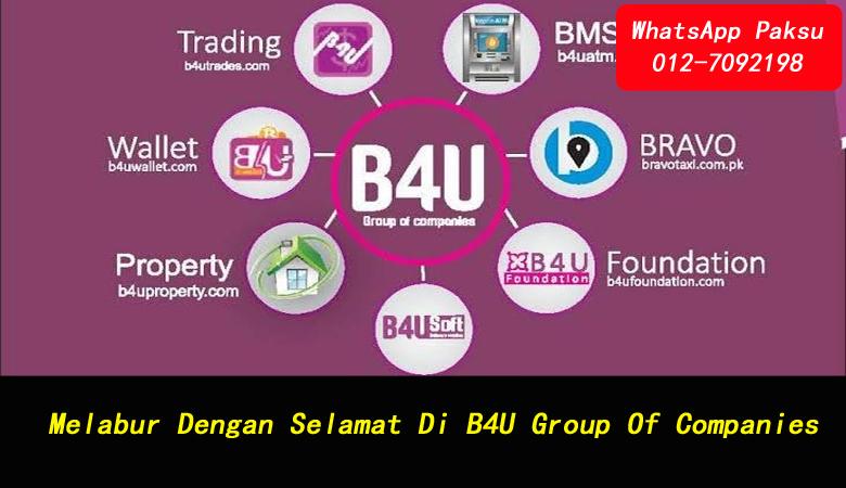 Melabur Dengan Selamat Di B4U Group Of Companies jana pendapatan pasif harian company investment terbaik di malaysia syarikat investment terbaik di malaysia