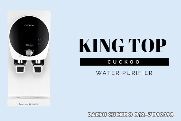 cuckoo king top water filter malaysia yang terbaik penapis air cuckoo king top
