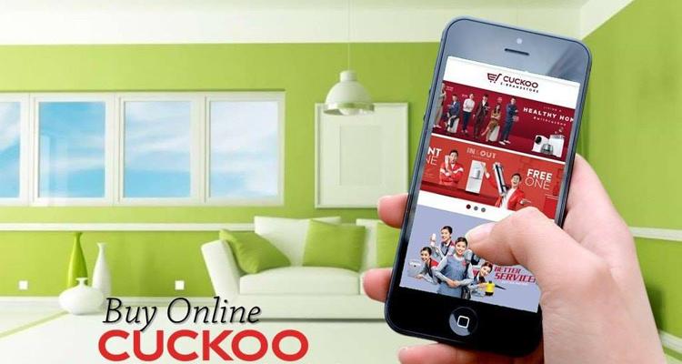 cuckoo e brandstore proses register dan daftar produk penapis air cuckoo penapis udara cuckoo multicooker cuckoo online dengan pantas dan cepat