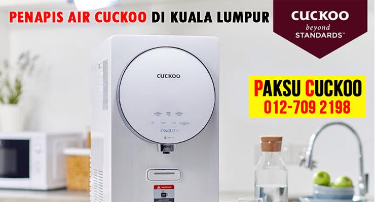 pilihan model penapis air cuckoo KUALA LUMPUR KL merupakan penapis air yang terbaik murah berkualiti terbaik untuk kesihatan di malaysia penapis air cuckoo vs coway