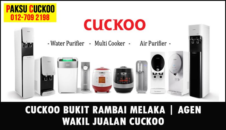 paksu cuckoo merupakan wakil jualan cuckoo ejen agent agen cuckoo bukit rambai yang sah dan berdaftar di seluruh negeri melaka