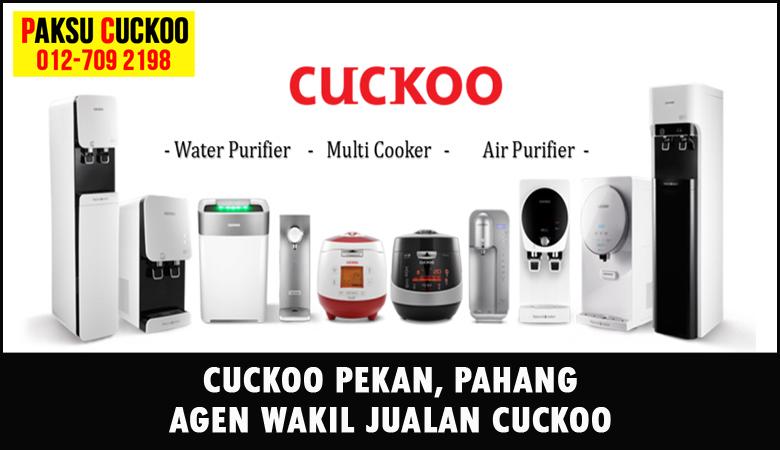 paksu cuckoo merupakan wakil jualan cuckoo ejen agent agen cuckoo pekan yang sah dan berdaftar di seluruh negeri pahang
