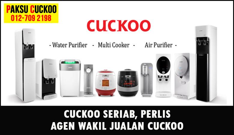 paksu cuckoo merupakan wakil jualan cuckoo ejen agent agen cuckoo seriab yang sah dan berdaftar di seluruh negeri perlis
