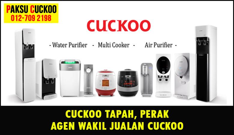 paksu cuckoo merupakan wakil jualan cuckoo ejen agent agen cuckoo sungai tapah yang sah dan berdaftar di seluruh negeri perak