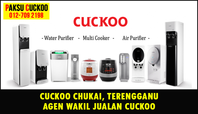 paksu cuckoo merupakan wakil jualan cuckoo ejen agent agen cuckoo chukai yang sah dan berdaftar di seluruh negeri terengganu