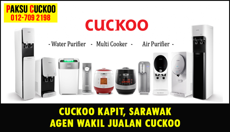 paksu cuckoo merupakan wakil jualan cuckoo ejen agent agen cuckoo kapit yang sah dan berdaftar di seluruh negeri sarawak