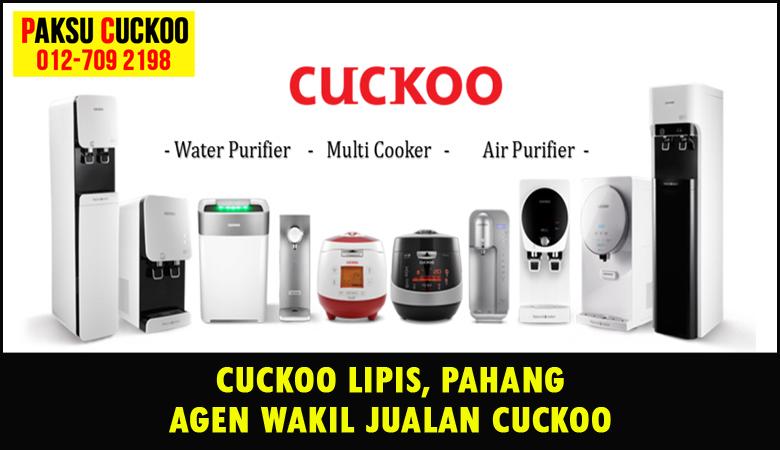 paksu cuckoo merupakan wakil jualan cuckoo ejen agent agen cuckoo lipis yang sah dan berdaftar di seluruh negeri pahang