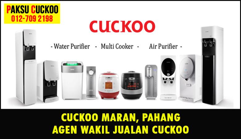 paksu cuckoo merupakan wakil jualan cuckoo ejen agent agen cuckoo maran yang sah dan berdaftar di seluruh negeri pahang