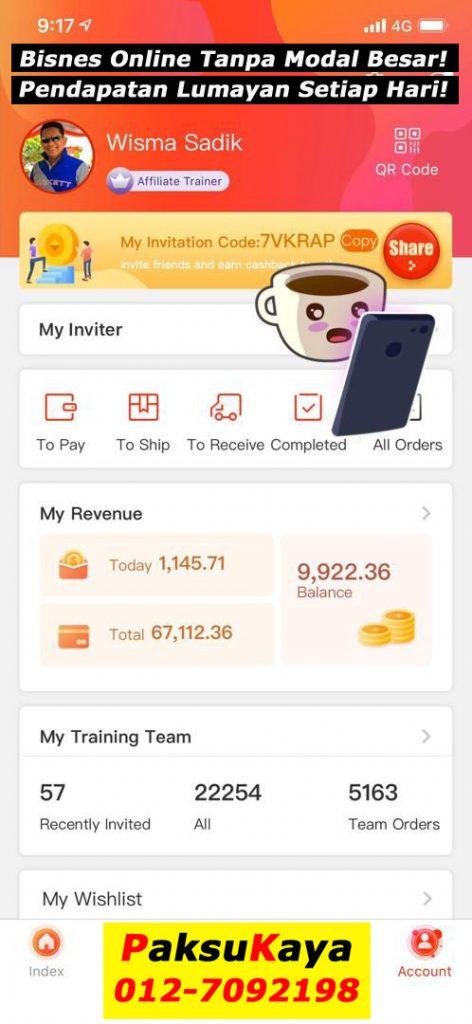buat bisnes online tanpa modal yang besar pendapatan tambahan part time yang lumayan setiap hari di Fingo perniagaan online terbaik masa kini