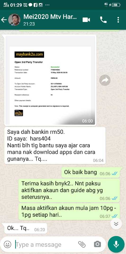 1d menjana pendapatan tambahan duit tepi income part time jana extra income dengan starlight tv