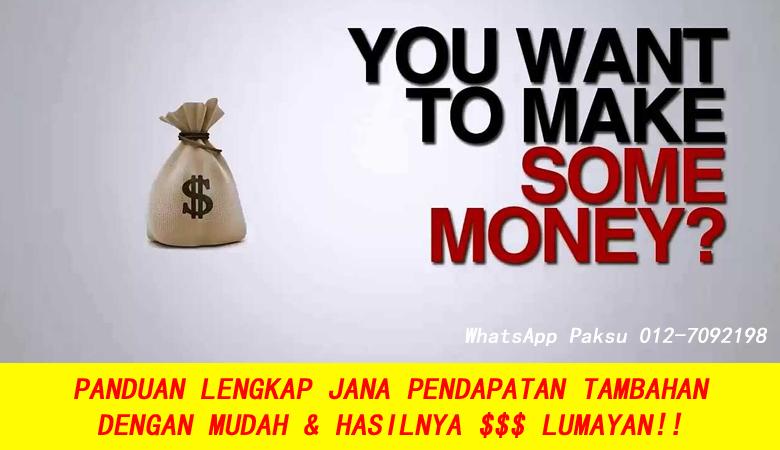 Panduan Lengkap Jana Pendapatan Tambahan Dengan Mudah & Hasil Lumayan buat extra income jana duit lebih kerja tambahan sampingan bisnes part time