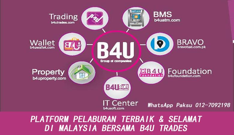 melabur di platform pelaburan terbaik dan paling selamat di malaysia tahun 2020 2021 2022 2023 2024 di b4u trades b4u global malaysia b4u group of companies jana pendapatan pasif