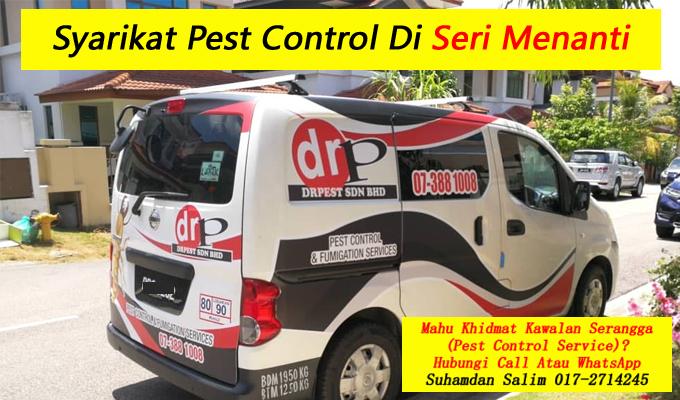syarikat drpest sdn bhd pest control company khidmat membasmi kawalan makhluk perosak semburan sanitize service covid-19 disinfection services seri menanti negeri sembilan