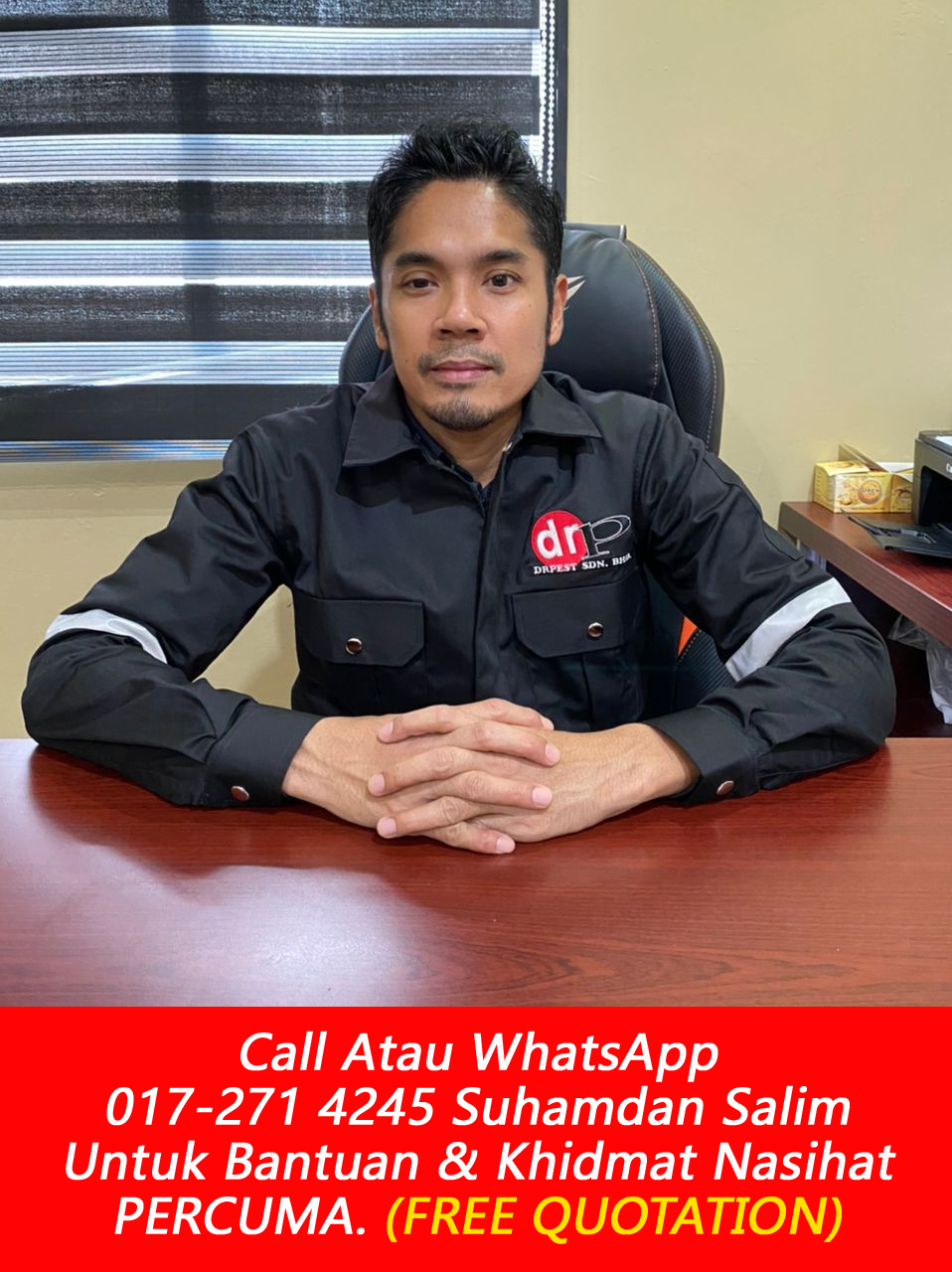 drpest sdn bhd drp maintenance and services syarikat kawalan serangga bumiputra yang berlesen the best company pest control near me area Kampung Datuk Keramat kl near me