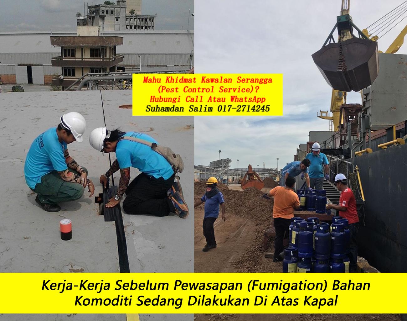 fumigation service fumigator berlesen kerja pewasapan syarikat company fumigation berlesen di masalah anai-anai Kampung Pandan kl taman taman perumahan kawasan perindustrian