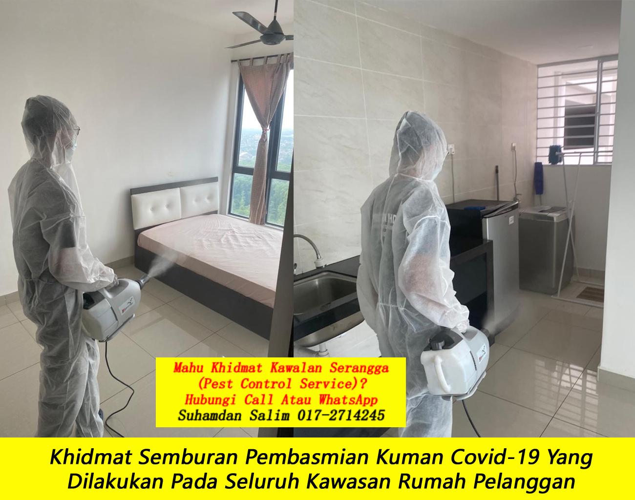khidmat sanitizing membasmi kuman Covid-19 Disinfection Service semburan sanitize covid 19 paling berkesan dengan harga berpatutan the best service covid-19 Bandar Manjalara kl