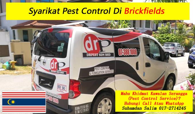 syarikat drpest sdn bhd pest control company khidmat membasmi kawalan makhluk perosak semburan sanitize service covid-19 disinfection services Brickfields kl