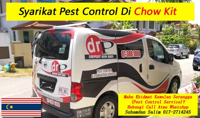 syarikat drpest sdn bhd pest control company khidmat membasmi kawalan makhluk perosak semburan sanitize service covid-19 disinfection services Chow Kit kl