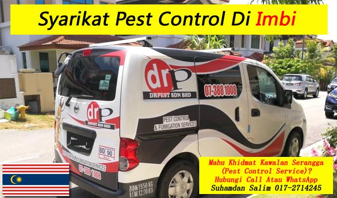 syarikat drpest sdn bhd pest control company khidmat membasmi kawalan makhluk perosak semburan sanitize service covid-19 disinfection services Imbi kl