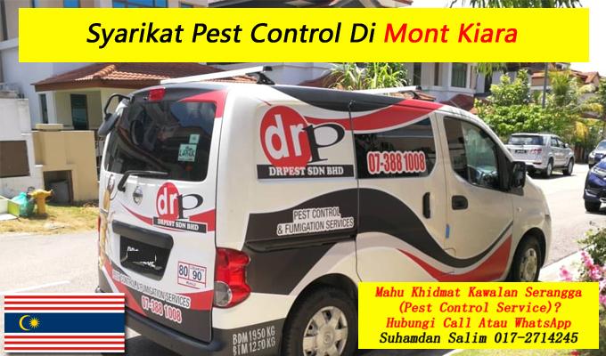 syarikat drpest sdn bhd pest control company khidmat membasmi kawalan makhluk perosak semburan sanitize service covid-19 disinfection services Mont Kiara kl