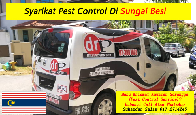 syarikat drpest sdn bhd pest control company khidmat membasmi kawalan makhluk perosak semburan sanitize service covid-19 disinfection services Sungai Besi kl