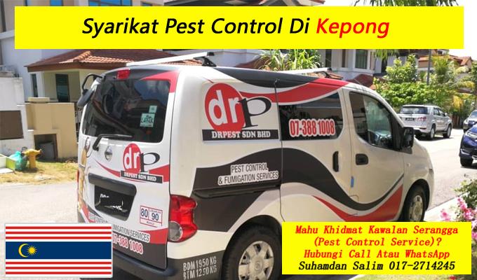 syarikat drpest sdn bhd pest control company khidmat membasmi kawalan makhluk perosak semburan sanitize service covid-19 disinfection services kepong kl