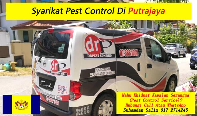 syarikat drpest sdn bhd pest control company khidmat membasmi kawalan makhluk perosak semburan sanitize service covid-19 disinfection services putrajaya
