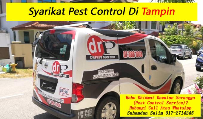syarikat drpest sdn bhd pest control company khidmat membasmi kawalan makhluk perosak semburan sanitize service covid-19 disinfection services tampin negeri sembilan